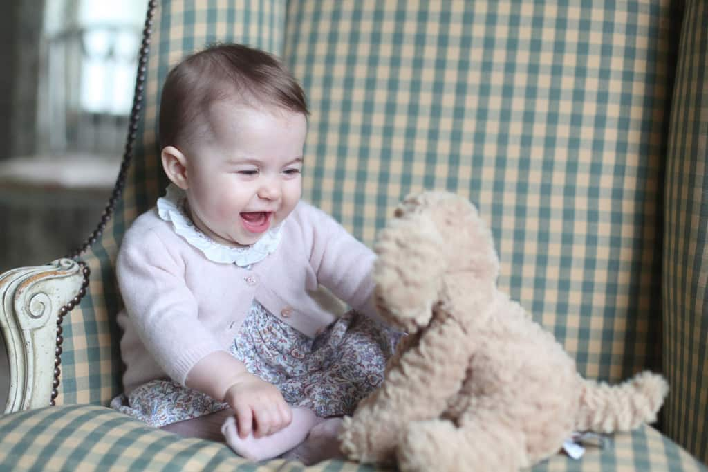 Princess Charlotte taken by the Duchess of Cambridge -  Sandringham