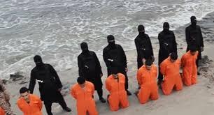 En février 2015, l'EI en Libye diffuse une vidéo de l'exécution de 21 chrétiens égyptiens