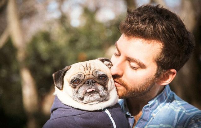 Jonathan Graziano et son chien