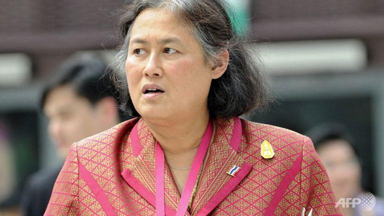 La princesse thaïlandaise Maha Chakri Sirindhorn