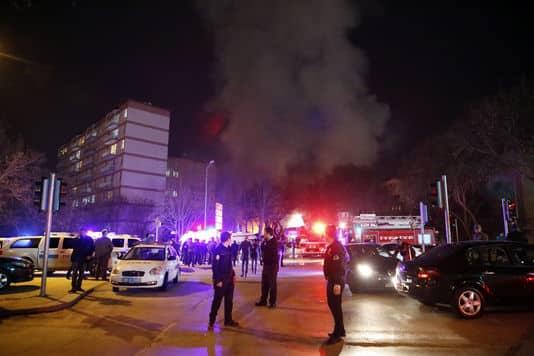 Peu après l'attentat perpétré à Ankara, le 17 février - Photo AP