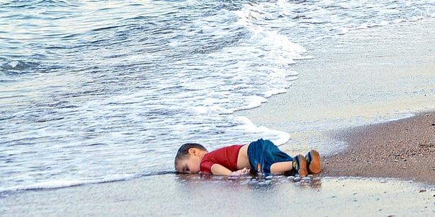 Aylan Kurdi, devenu un symbole planétaire du drame des migrants.