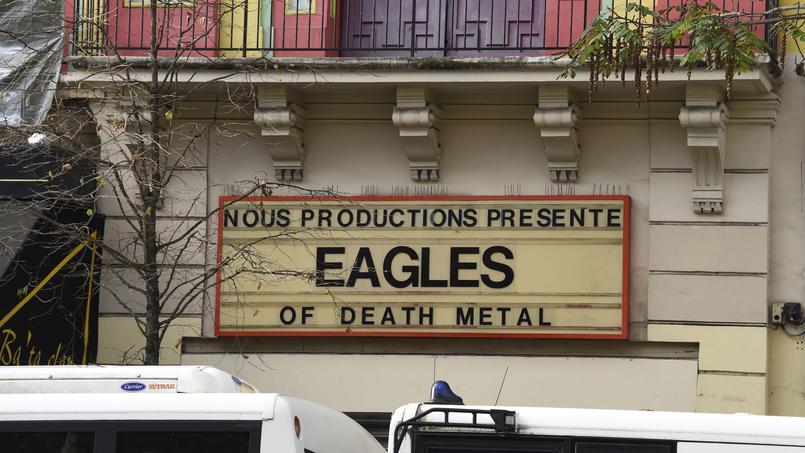 L'annonce du concert des Eagles of Death Metal à l'Olympia