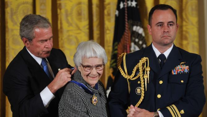 avait reçu du président George W. Bush la Médaille présidentielle de la liberté