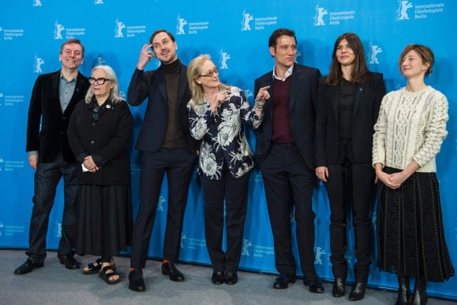 Le Jury du festival de Berlin - PHOTO AFP