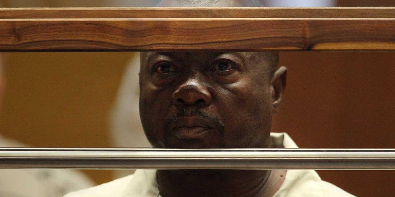 """Lonnie Franklin Jr, 63 ans, surnommé le """"Sinistre endormi"""""""