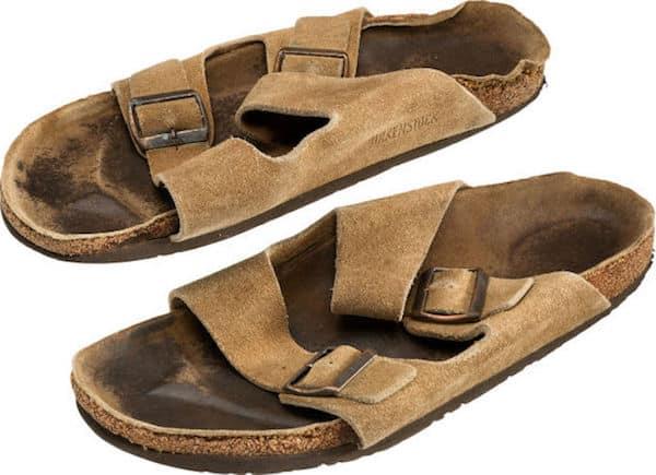 sandales steve jobs
