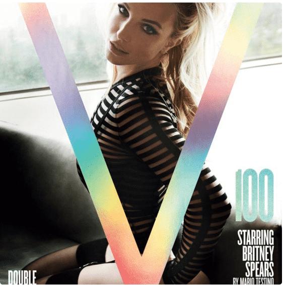 Britney V mag