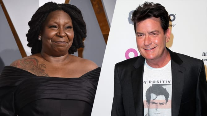 Charlie Sheen Whoopi Goldberg