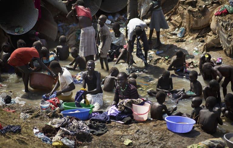 Dans la base de l'ONU à Juba, la capitale du Soudan du Sud