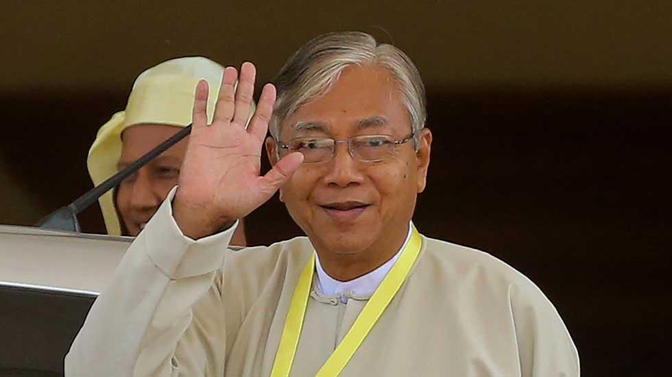 Htin Kyaw.Photo AFP