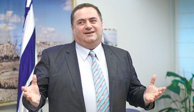 Israël Katz, le ministre des Transports et des Renseignements