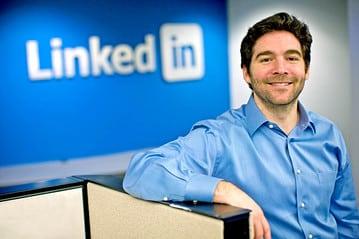 Jeff Weiner, patron du réseau social professionnel LinkedIn