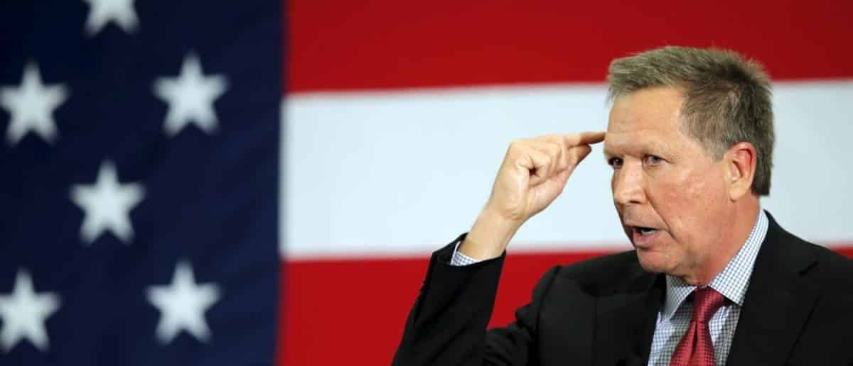 John Kasich, candidat à l'investiture américaine