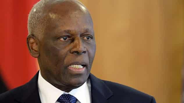 Jose Eduardo dos Santos angola