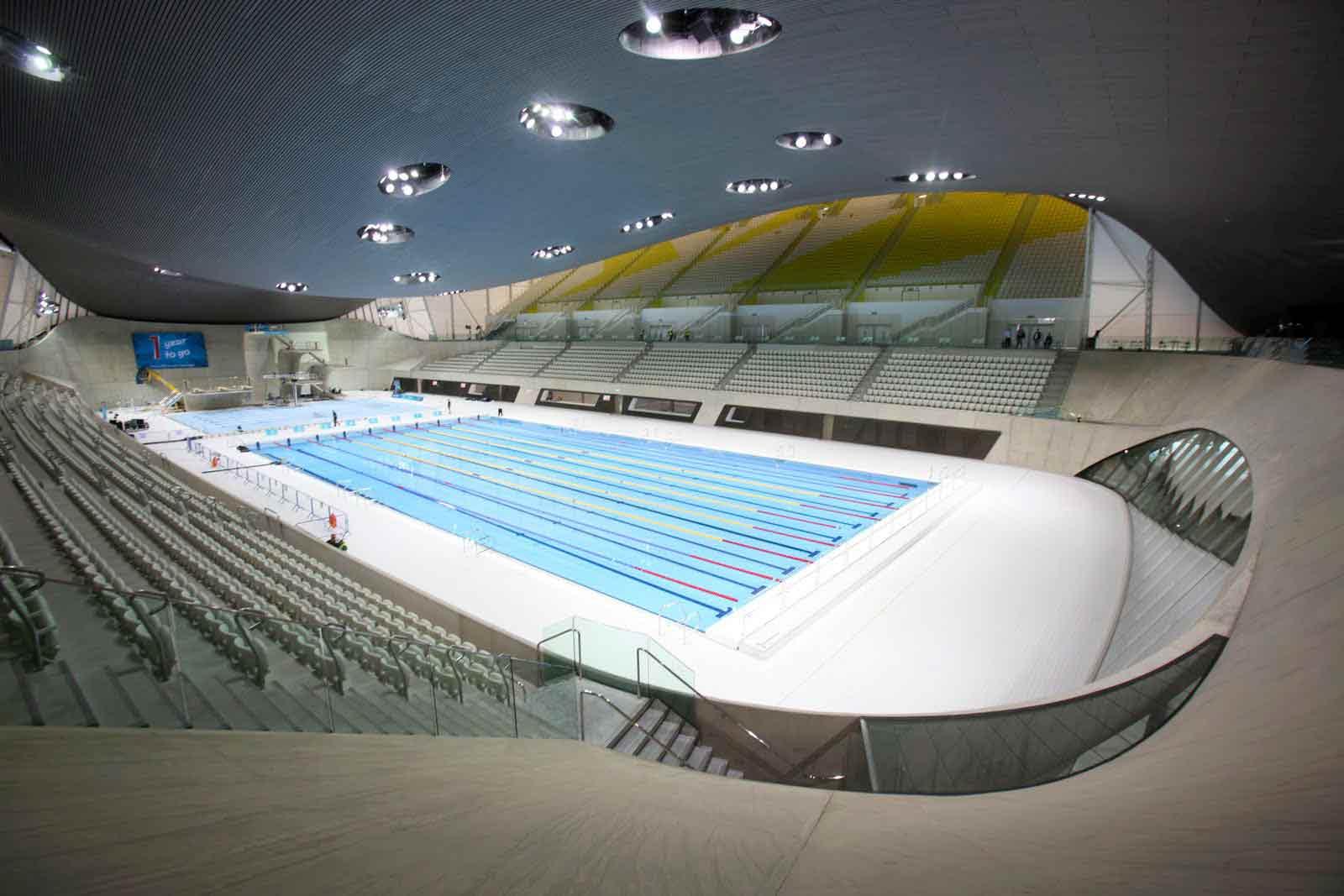 La-piscine-des-JO-de-Londres-en-2012