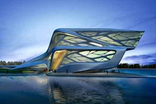 Zaha hadid figure phare de l architecture contemporaine for Piscine zaha hadid