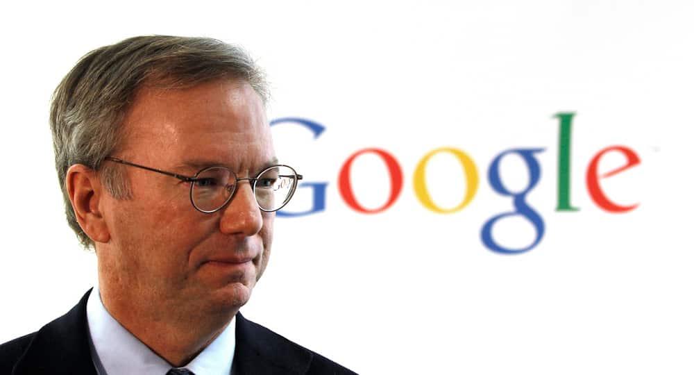 Le président exécutif d'Alphabet (Google), Eric Schmidt