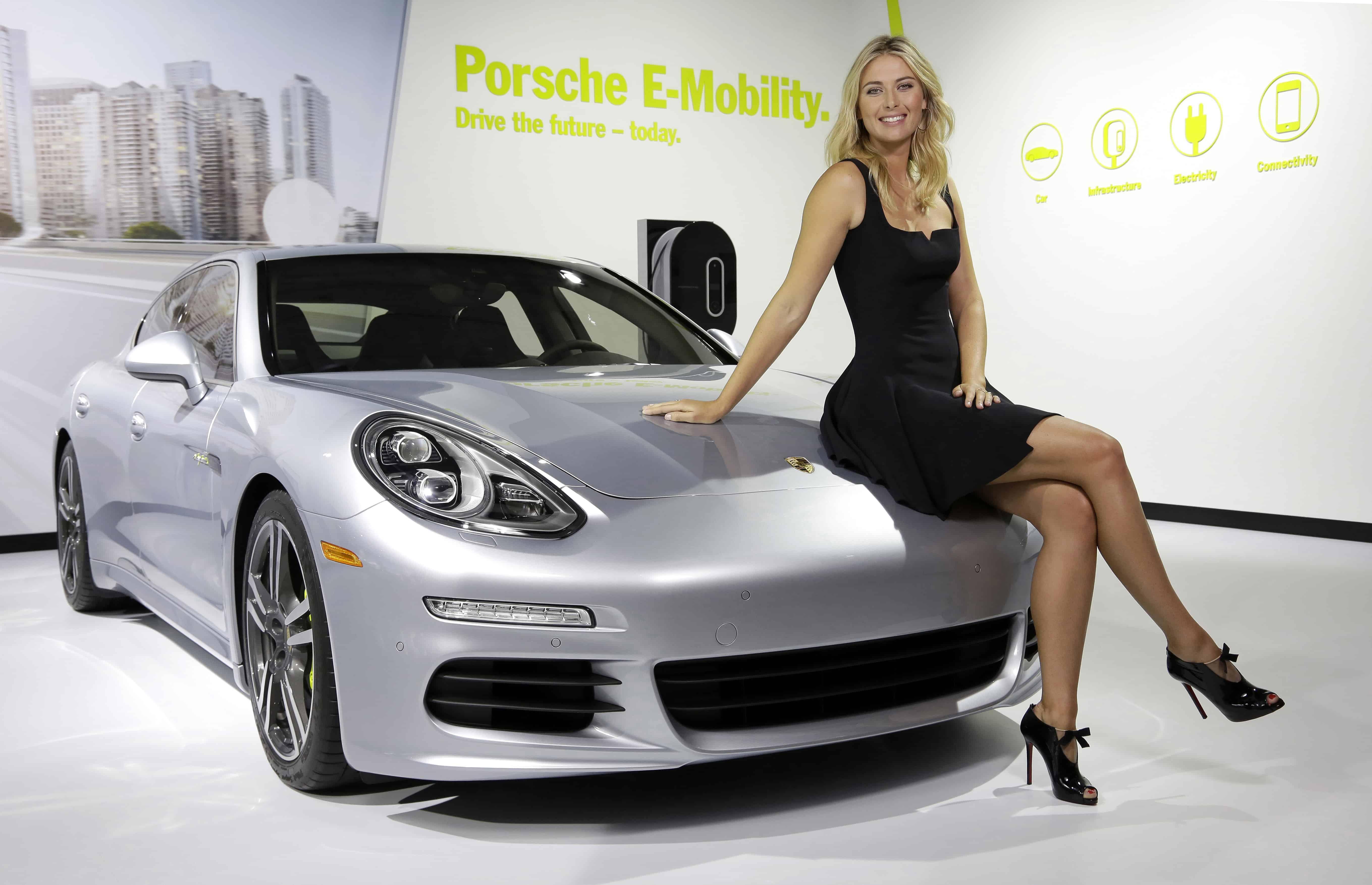Maria Sharapova était ambassadrice de Porsche depuis 2013