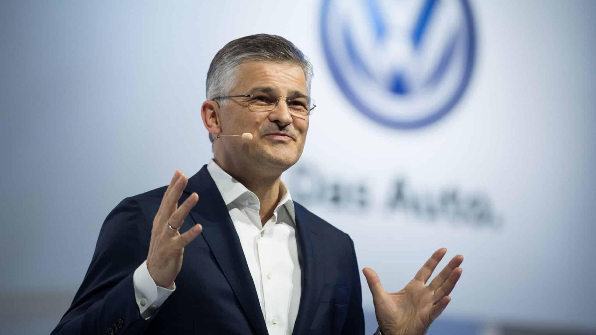 Michael Horn, le président de Volkswagen Amérique du Nord