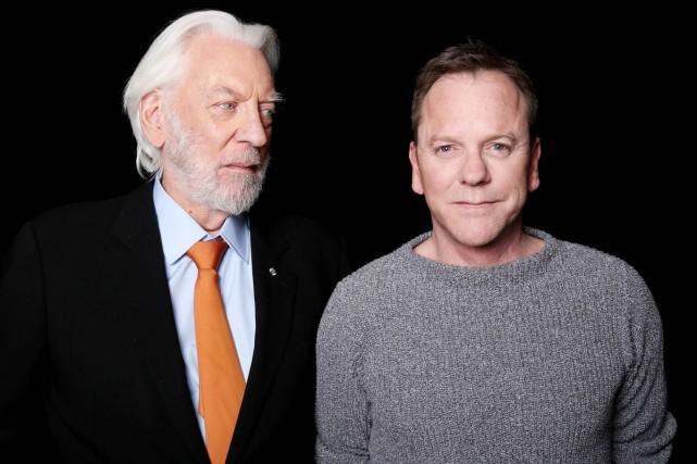Le père et le fils, Donald et Kiefer Sutherland