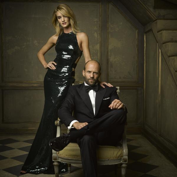Rosie and Jason statham