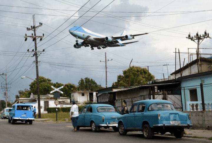 air force one a cuba