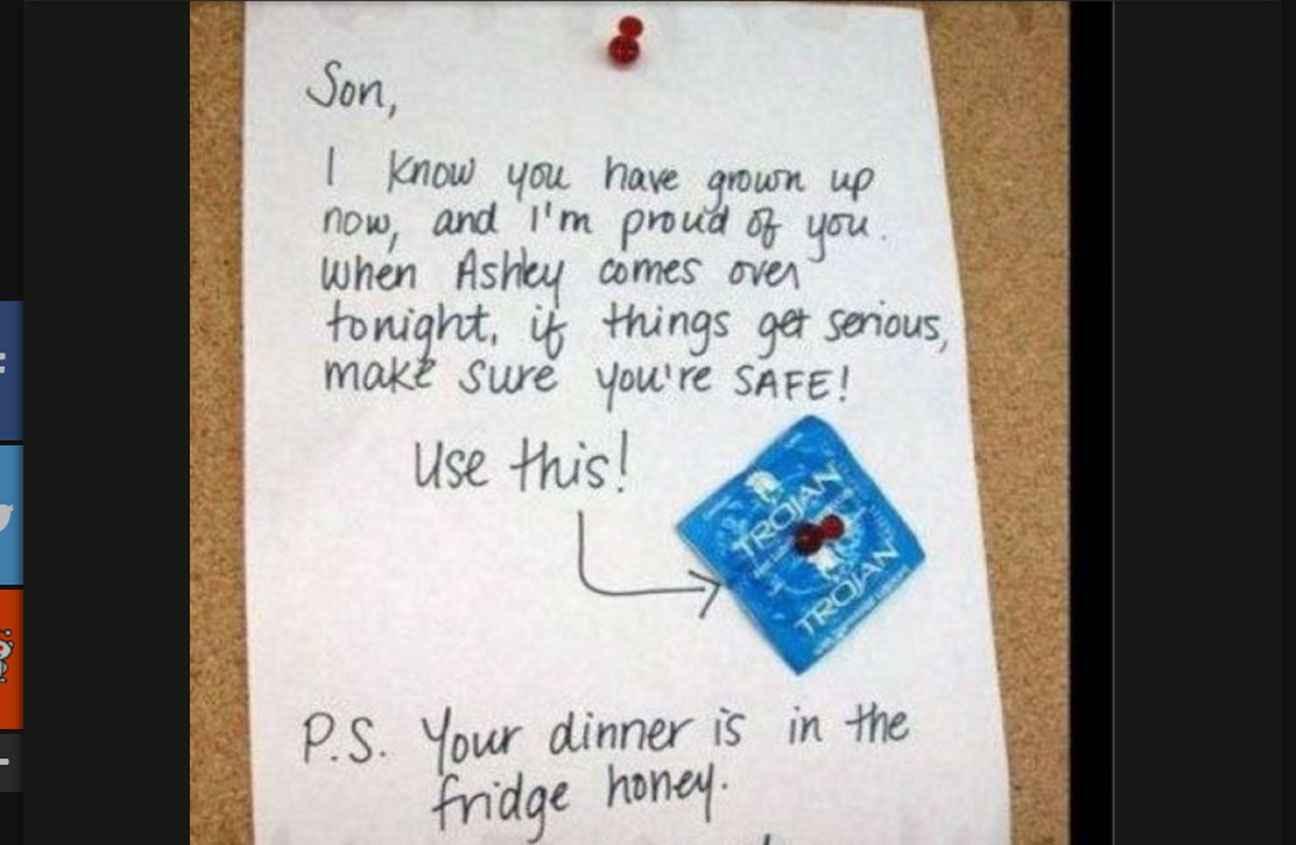 message preservatif