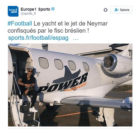 neymar foot