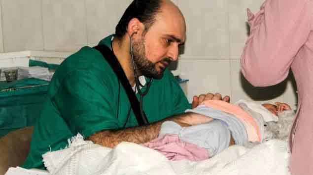 Alep-pleure-le-pédiatre