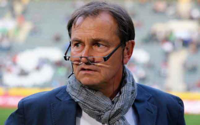 Ewald Lienen le populaire entraîneur du clib