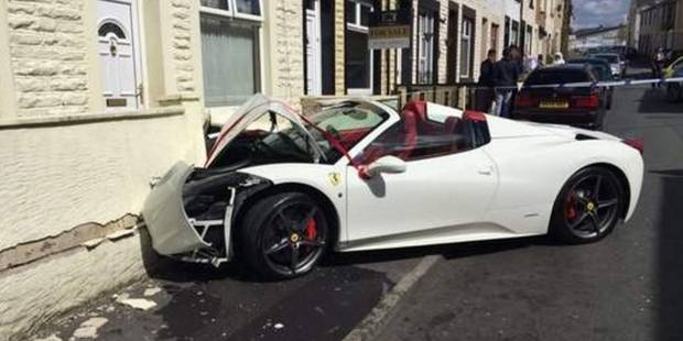 accident ferrari