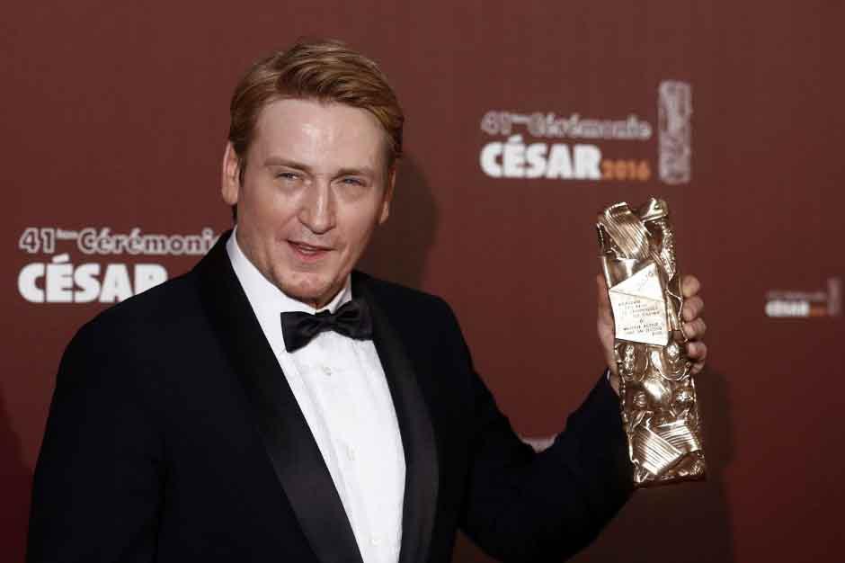 comédien, qui vient d'obtenir le César du meilleur acteur dans un second rôle