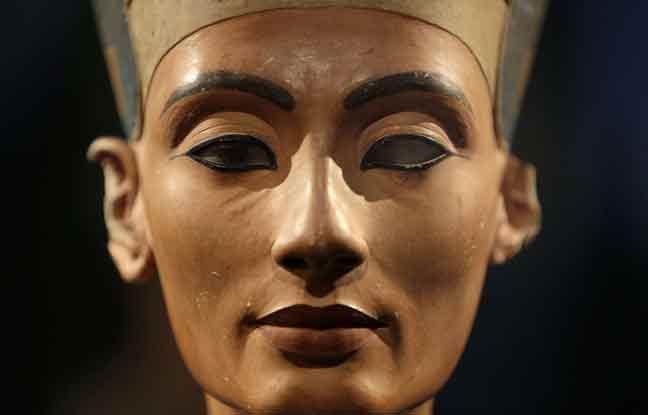 Buste de Néfertiti à Berlin. Photo AP