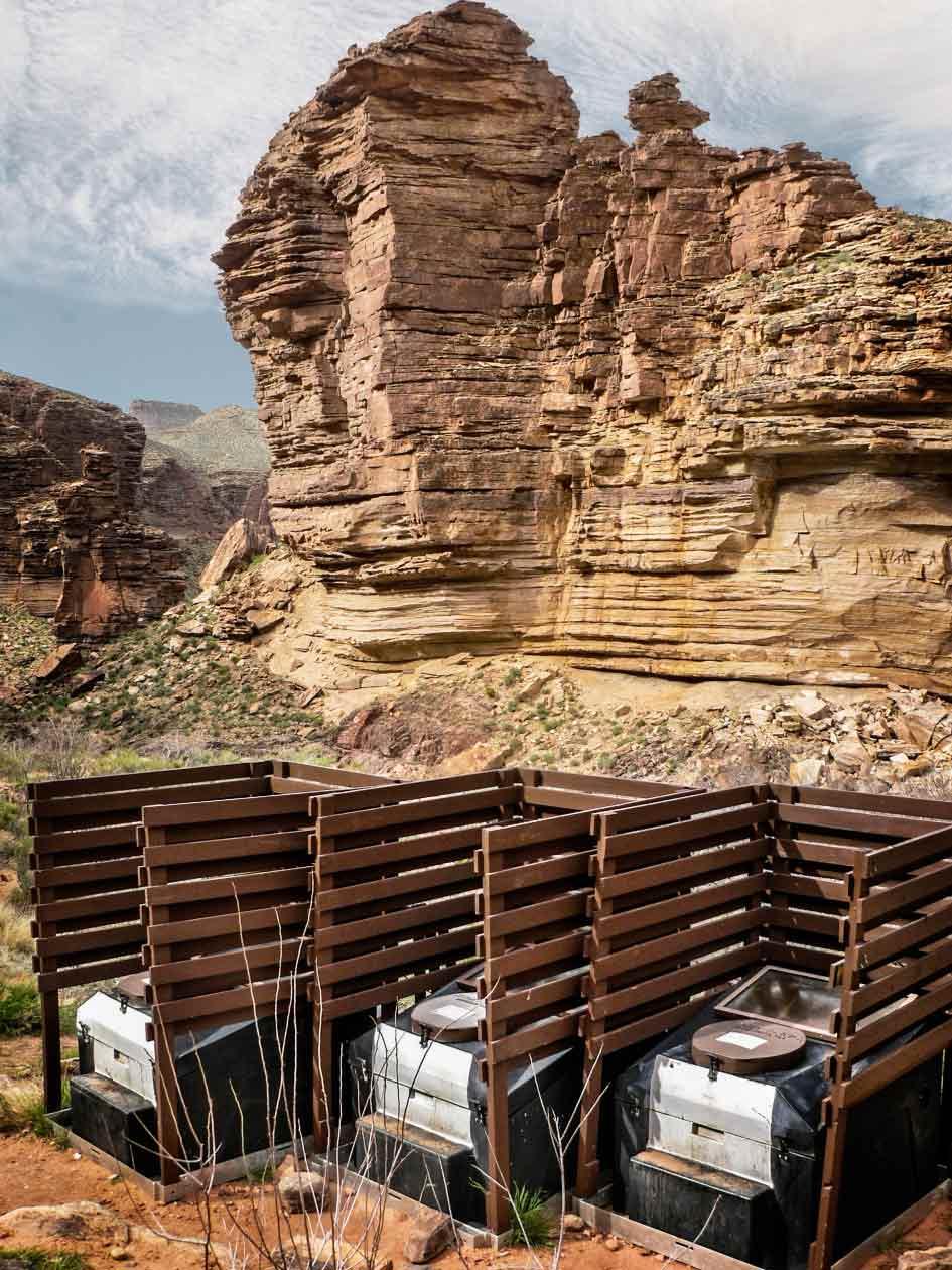 Tonto Trail, dans le parc national du Grand Canyon, aux États-Unis.