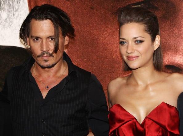 Johnny Depp et Marion Cotillard