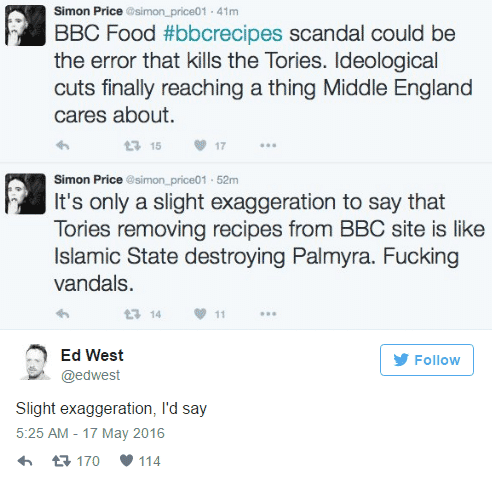 bbc food tweet