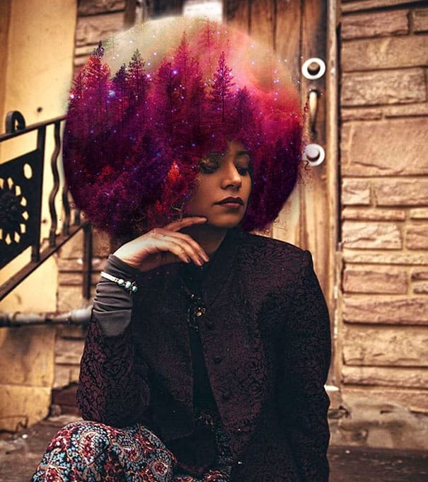 cheveux afro 2