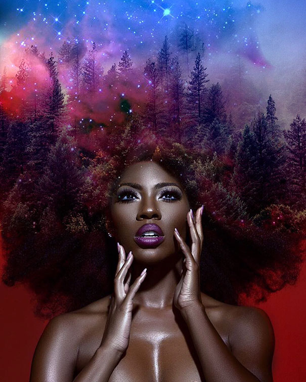 cheveux afro 6
