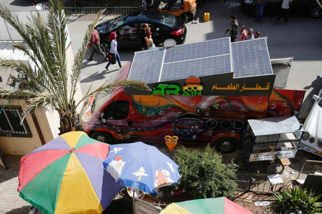 food-truck palestinien