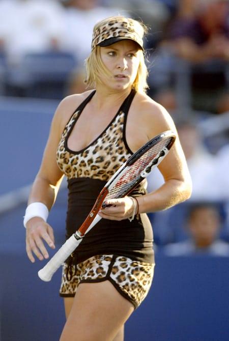 joueuse leopard