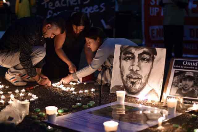 Une veillée à la chandelle a eu lieu samedi à Sydney pour commémorer un réfugié iranien qui s'est également immolé par le feu.