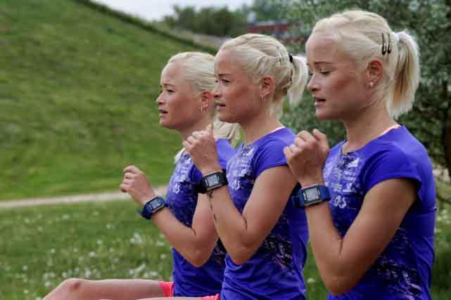 Leila, Liina et Lily Luik