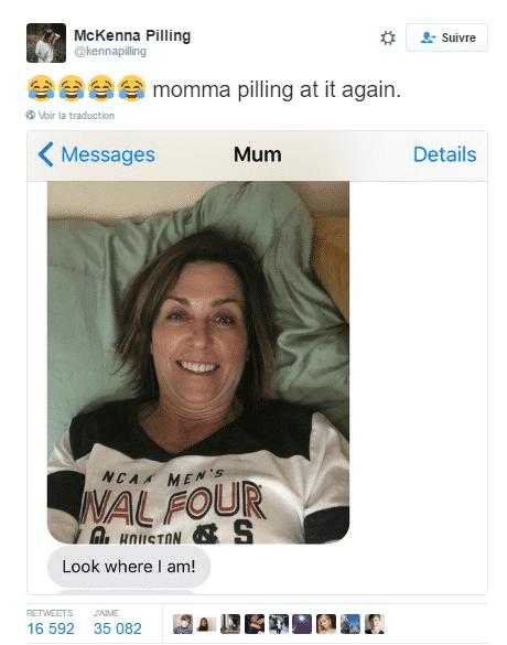 tweet maman