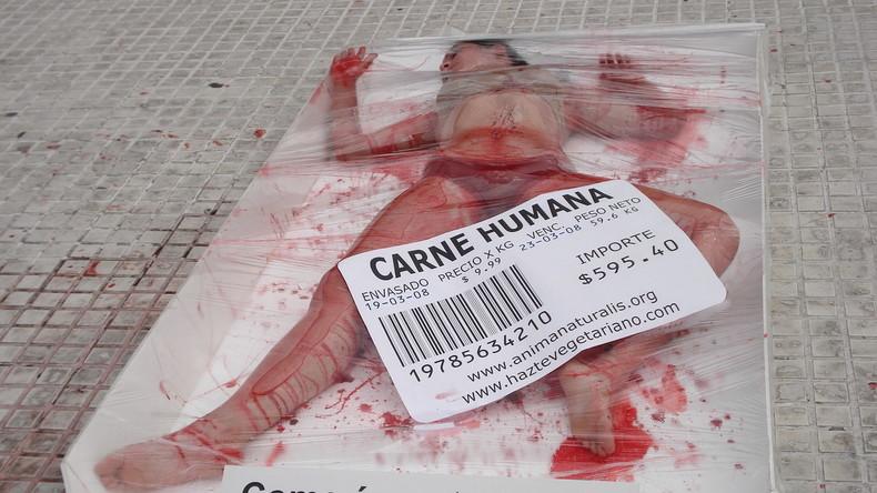 viande humaine