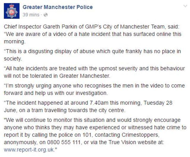 police racisme uk