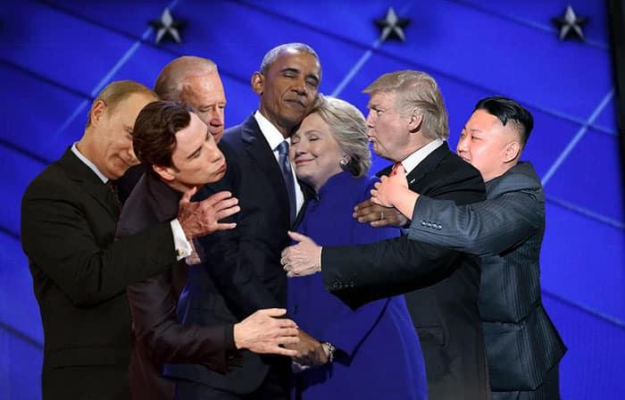 Hillary Clinton et Obama 1