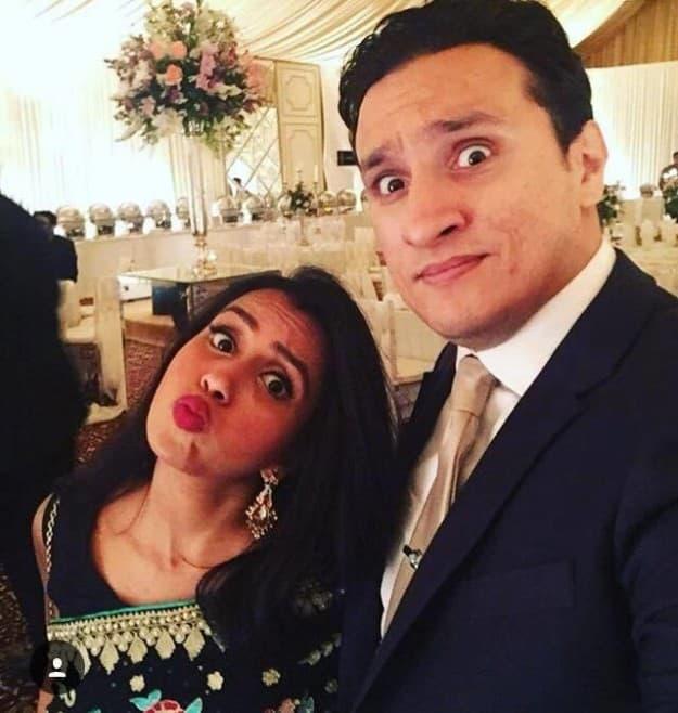 Huma Mobin et Arsalaan Sever Butt