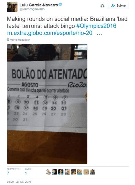 bingo-attentat tweet