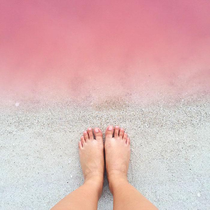 Mexico's pink lagoon 4